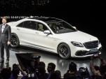 2018 Mercedes-AMG S63, 2017 Shanghai auto show