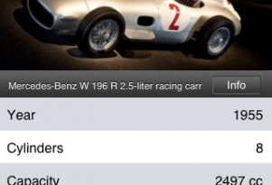 Mercedes-Benz 'Silver Arrow' Game For iPhone & iPod Touch
