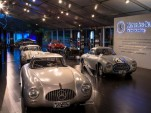 Mercedes-Benz SL models on display at Pebble Beach