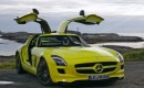 Mercedes-Benz SLS AMG E-Cell electric vehicle (image via Auto Bild)