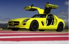 Mercedes-Benz SLS AMG E-Cell Official Photos, Details