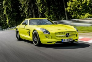 New Nürburgring Lap Record For Electric Car Set By SLS AMG