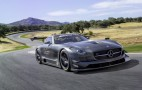 Mercedes SLS AMG GT3 45th Anniversary Edition Track Video