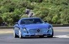 2014 Mercedes-Benz SLS AMG Coupe Electric Drive On The Road: Video