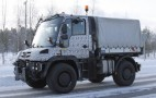 2013 Mercedes-Benz Unimog Spy Shots