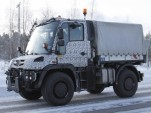 Mercedes-Benz Unimog spy shots
