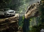Mercedes-Benz vehicles in 'Jurassic World'
