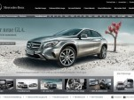 Mercedes-Benz website (German version)