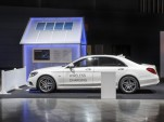 Mercedes-Benz S550e wireless charging comes into focus