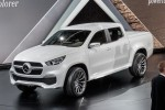 Mercedes-Benz hops into beds with new X-Class pickup truck