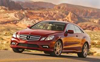 First Drive: 2010 Mercedes-Benz E-Class Coupe
