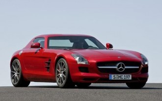 First Drive: 2010 Mercedes-Benz SLS AMG