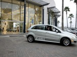 First Mercedes-Benz B-Class F-Cell hydrogen fuel-cell vehicle delivery, Newport Beach, Dec 2010