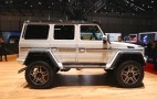 Mercedes-Benz G500 4x4² Concept: Live Photos And Video
