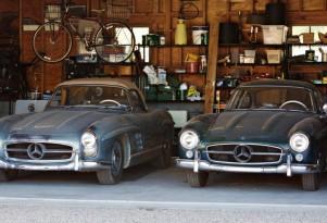 Pair of Mercedes-Benz 300SLs