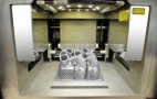 Mercedes-Benz has 3D-printed a replacement part out of metal