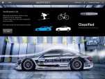 Mercedes-Benz's new C-Class brochure app for UK customers.