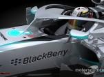 Mercedes F1 Halo Concept