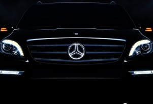 Mercedes' new illuminated star accessory