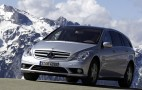 Mercedes R-class facelifted