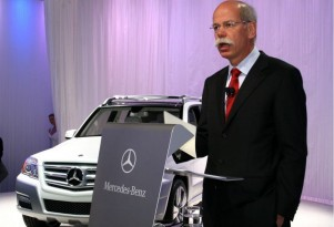Mercedes-Benz, Dieter Zetsche and Palast Orchester