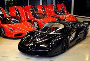Michael Schumacher's Ferrari Enzo and FXX - Image: Garage Zénith