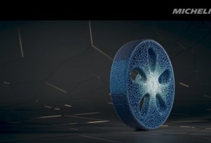 Michelin Visionary Concept is a look at the future of tires
