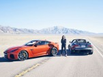 Michelle Rodriguez and her 201 mph run in the Jaguar F-Type SVR