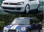Mini Cooper S JCW And Volkswagen GTI