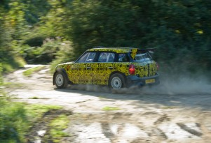 MINI Countryman WRC in shakedown testing