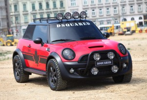 One-Off MINI Cooper For Life Ball Charity Wets Taste For Off-Road Variant
