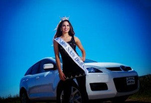 Miss South Dakota Takes On Distracted Driving