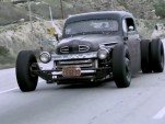 Mitch Allread's 1949 Ford F5 street rod.