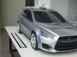 Mitsubishi Evo X Rally Concept