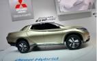Mitsubishi GR-HEV Hybrid Pickup Concept Debuts In Geneva