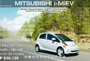 Mitsubishi i In Cheapest Electric Car Lease Yet: $69 Per Month