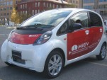 Mitsubishi i-MiEV electric car - front - December 2008
