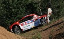 Mitsubishi i-MiEV Evolution crashes during Pikes Peak practice