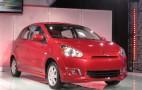 2014 Mitsubishi Mirage Subcompact: NY Auto Show Details