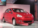 2014 Mitsubishi Mirage Subcompact: NY Auto Show Details
