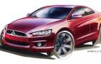 Mitsubishi Readies New Lancer Sports Sedan For Detroit Auto Show