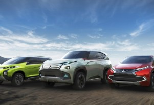 Mitsubishi XR-PHEV, GC-PHEV and AR concepts, 2013 Tokyo Motor Show