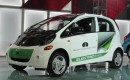 2012 Mitsubishi &quot;i&quot; electric car, powered by MiEV, launch event at 2010 Los Angeles Auto Show