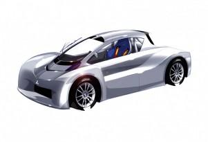 Mitsubishi i-MiEV Prototype for 2012 Pikes Peak Int'l Hill Climb