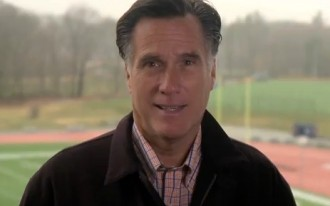 Polls Headed South, Mitt Romney Hits The Road To Win Michigan