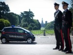 Italy's Crisp Carabinieri Get New Patrol Cars: Tiny Electric Minicars