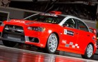 MML Sports unveils Mitsubishi Evo X Group N rally car