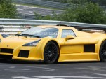 Modified Gumpert Apollo Speed supercar spy shots