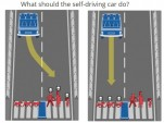 Moral Machine, a quiz about autonomous car ethics from the MIT Media Lab