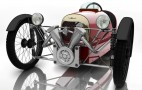 Morgan unveils pedal-powered three-wheeler
